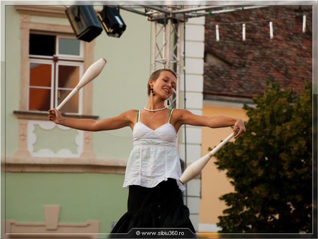 Festivalul international de Circ Sibiu 2009
