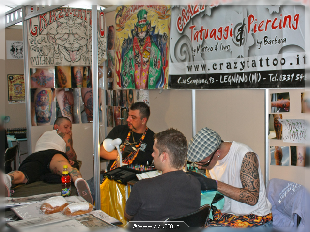 Transilvania Tattoo Expo 2009