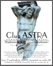 club astra in septembrie
