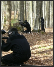 distractie paintball
