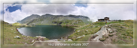 Tur virtual: Balea Lac