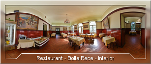 Tur virtual: Restaurant Bolta Rece - Interior