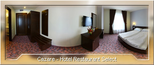 Tur virtual: Hotel Restaurant Select - Cazare