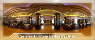 Tur virtual: Hotel Select - Sala Restaurant - 01
