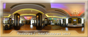 Tur virtual: Hotel Select - Sala Restaurant - 02