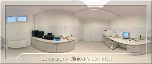 Tur virtual: Clinica Misan Med - Laborator