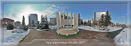 Panorama - Monument - Casa de Cultura a Sindicatelor
