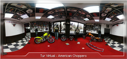Tur Virtual - American Choppers