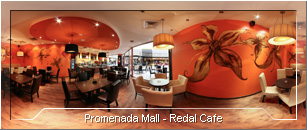 Tur virtual: Redal Cafe Sibiu - Locatia Promenada Mall