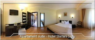 Tur Virtual - Apartament suite Hotel Stefani Sibiu