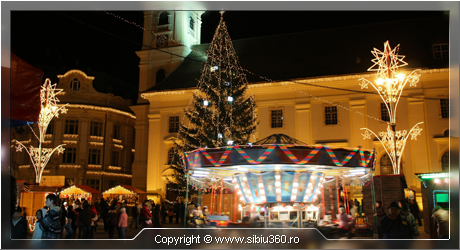 Wallpaper - Sibiu360 - decembrie 2009